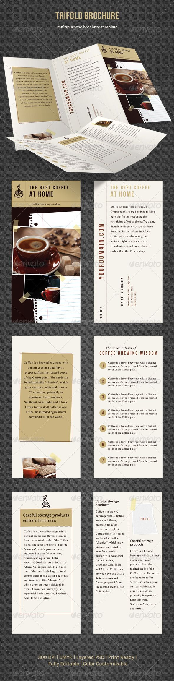 Print Templates - Trifold Brochure | GraphicRiver