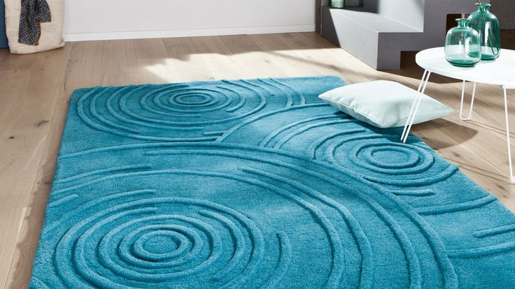 tapis contemporain tapis agua bleu petr le contemporain deco pinterest saints. Black Bedroom Furniture Sets. Home Design Ideas