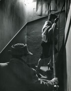 The Stairway, 1952 by Robert Doisneau