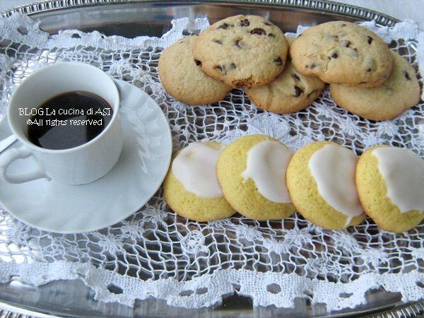 biscotti limone e cioccolato