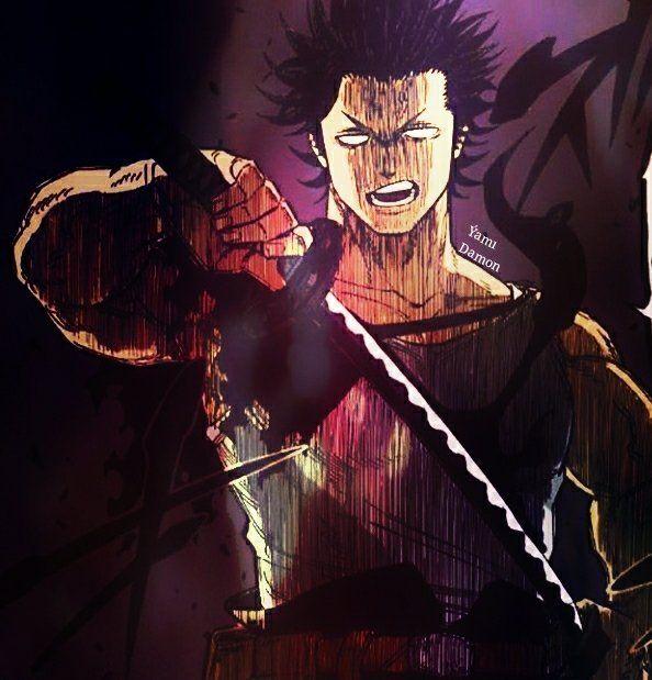 Black Clover Yami With Katana Arte Anime Personagens De Anime Desenho De Anime