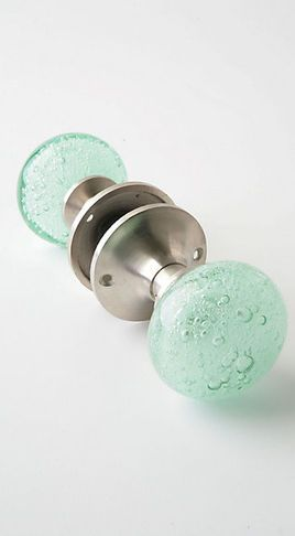 Beach themed door knobs