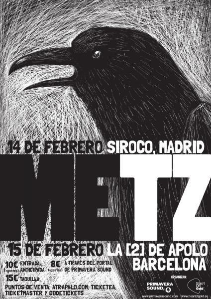 Metz @ Sala Siroco (Madrid)