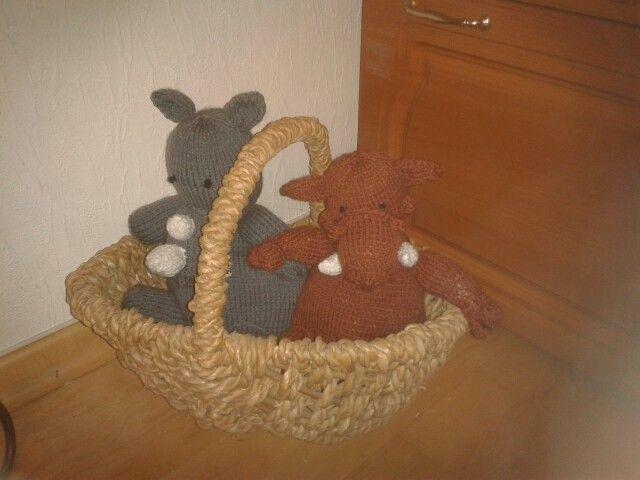 Nashorn und Warzenschwein