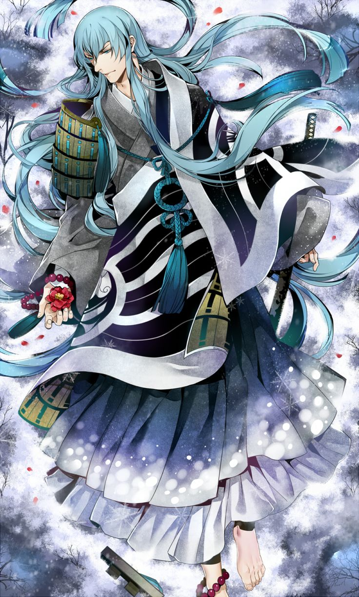 Kousetsu Samonji (Touken Ranbu) Touken ranbu, Anime, Art