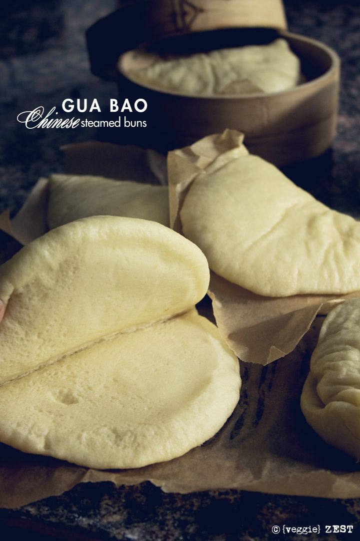 Gua Bao - Chinese Steamed Buns