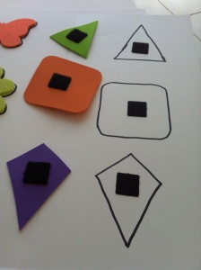 toddler project..LEARN OUR SHAPES