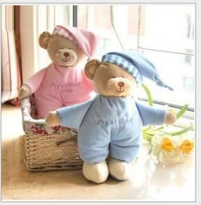 hot sale 1pcs Baby plush bear toy soft gift for baby child newborn product boy girl safety  high quality