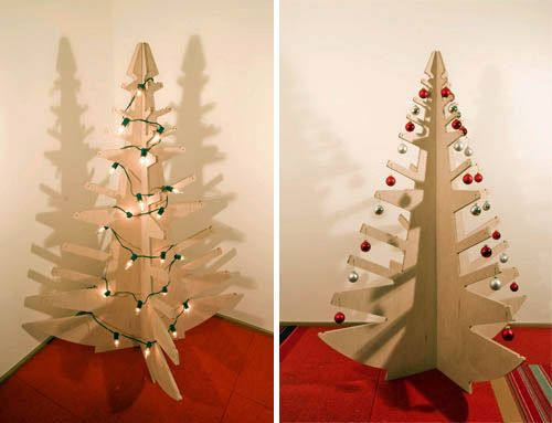 11 best images about modern christmas ideas on pinterest trees white christmas trees and - Awesome the modern christmas decorations ...