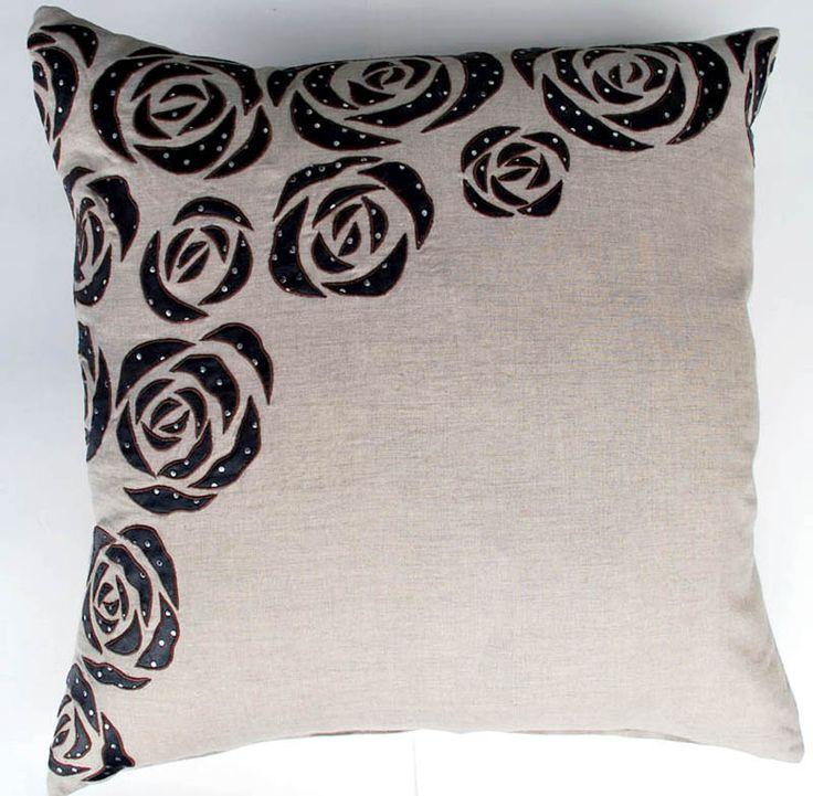 Rock n' Rose-Natural Pillow [#2224] Goemdee