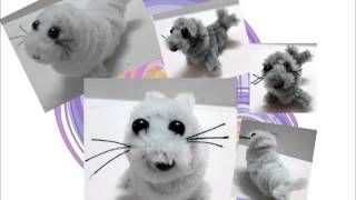 pipe cleaner animals - YouTube