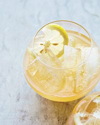 Citrus, Brandy and Pineapple Punch ~ This easy punch is mildly sweet and nicely boozy, with a bit of spice from nutmeg.