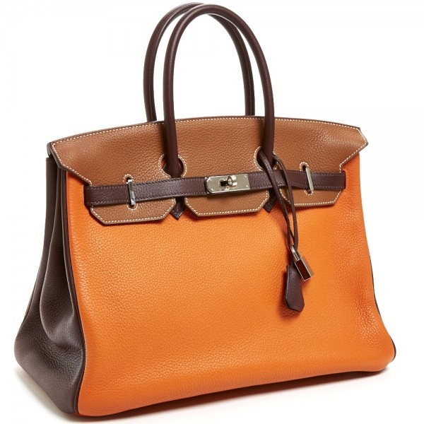Hermes TriColor Birkin bag - reasonably priced at $18.5K :-P