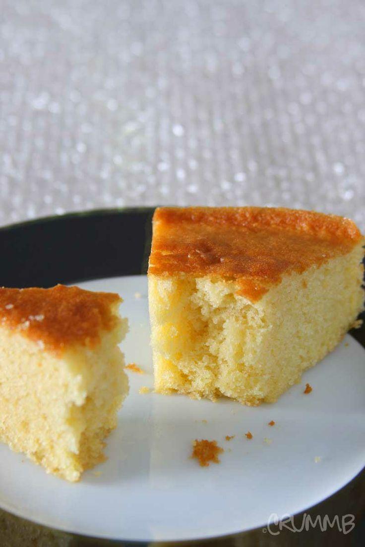 Fluffy, Moist Yellow Cake Recipe ~ From Scratch!
