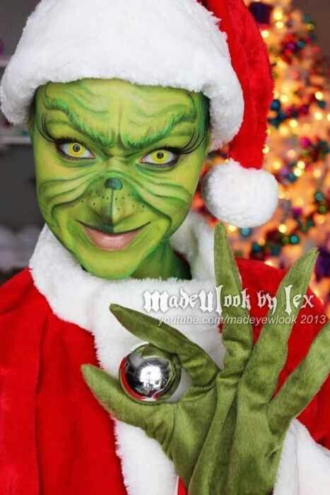 MadeULook by Lex - Grinch Make up