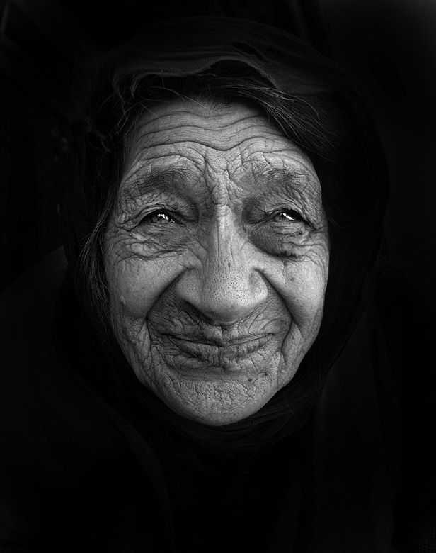 With age comes wisdom, with wisdom comes beauty.
