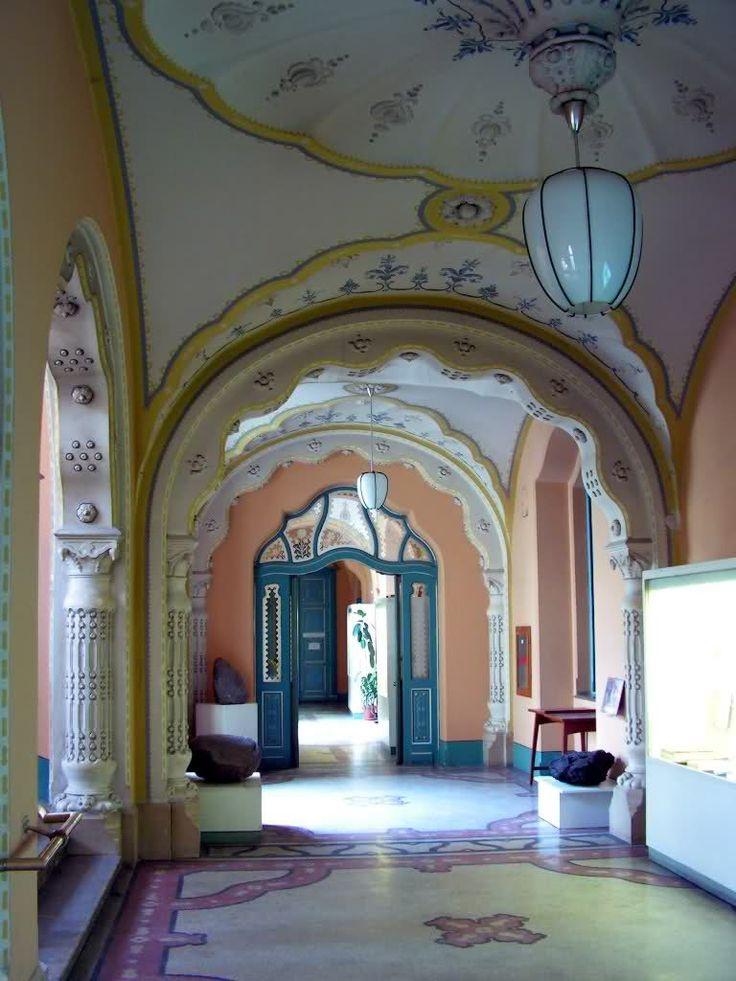 MÁFI, Budapest - Lechner Ödön (Hungarian Geological Institute, Budapest, Hungary - Ödön Lechner's art):