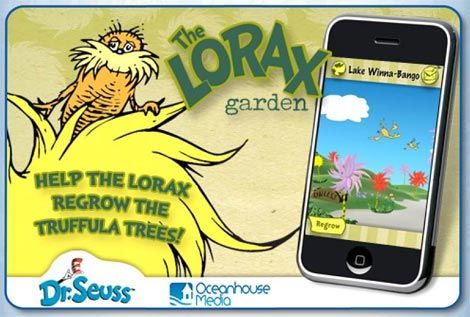 Dr. Seuss - The Lorax Garden - Free for Earth Day 2013 #MammaLoSa #review