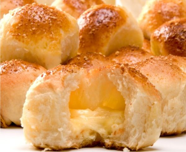PANELA DE BARRO QUE TUDO TEM: Pão de batata recheado