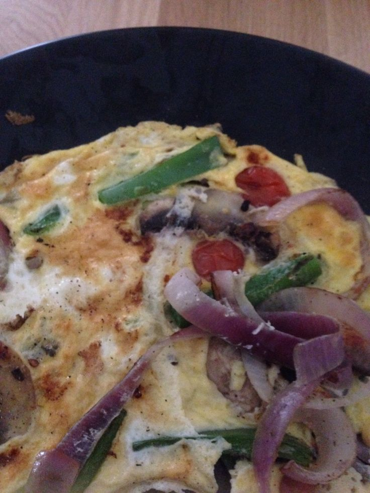 Syn free super free omelette - slimming world extra easy recipes