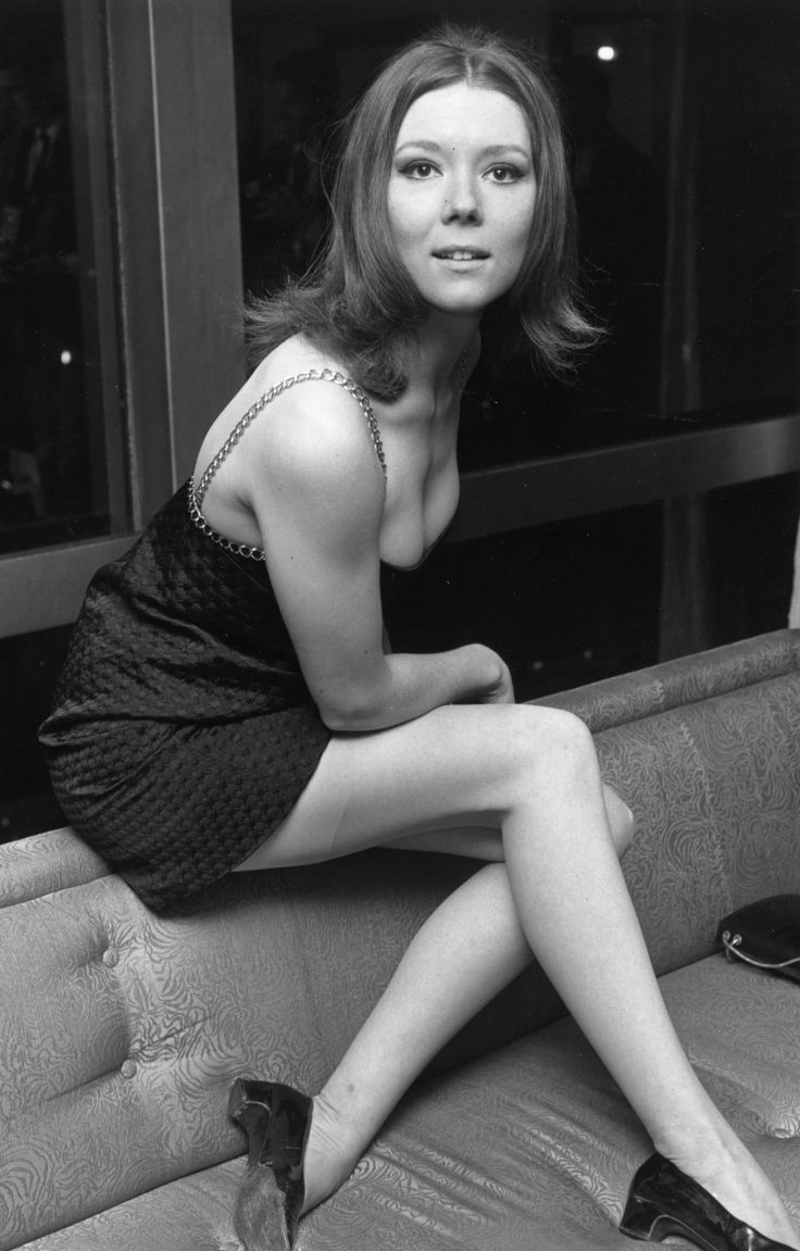 Diana Rigg (1960s). Best known today as Olenna Tyrell on Game of Thrones