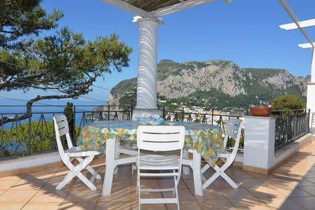 Sea View Villa Capri 3 BDR 2 Baths