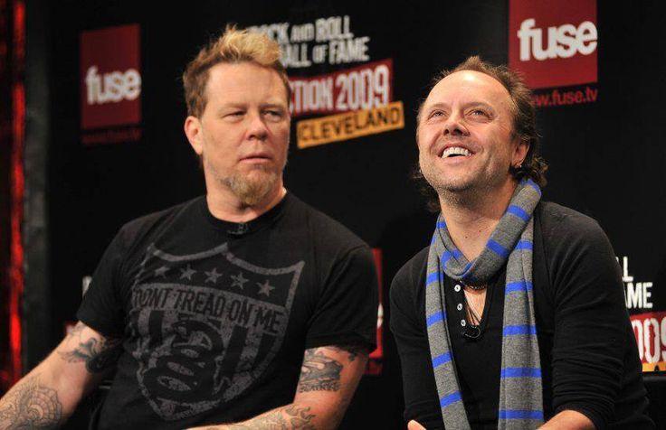 James and Lars.