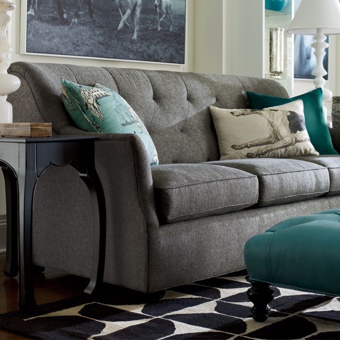 Love The Heather Gray Turquoise Color Combination