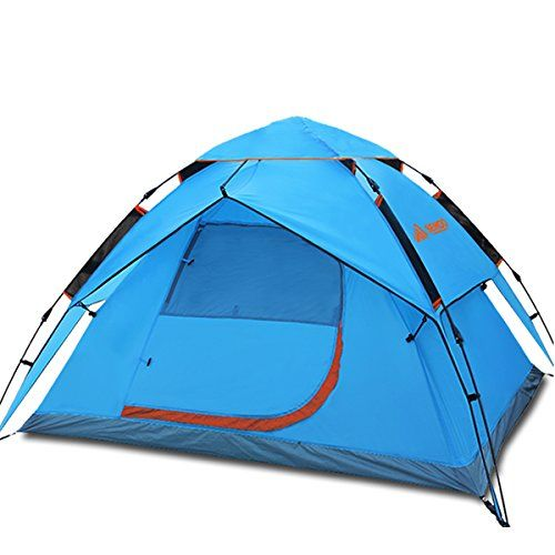 Semoo Lightweight, 2 Door, 3 Person, 3-Season Family Instant Tent with Carry Bag for Camping >> FIND OUT ADDITIONAL INFO @: http://www.best-outdoorgear.com/semoo-lightweight-2-door-3-person-3-season-family-instant-tent-with-carry-bag-for-camping/