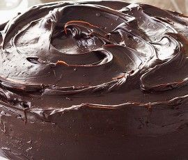 Chocolate Mud Cake: Chocolate lovers fantasy! Oozing with moist chocolatey goodness and finished off with a velvety chocolate ganache.