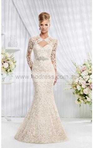 Sweetheart Lace Natural Buttons Wedding Dresses gqcf1025--Hodress