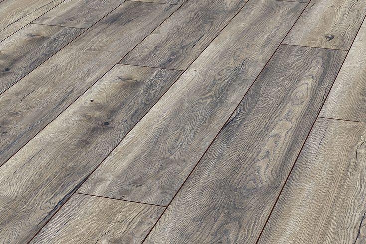 Series Woods Professional 10mm Laminate Flooring Harbour Oak grey. 30yr guarantee. £13 per sq m