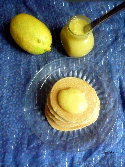 Lemon curd & pancakes