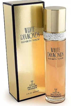 """White Diamonds by Elizabeth Taylor edp spr 50ml - I remember the commercials for White Diamonds in the 90's and have always thought of it as an """"old lady"""" perfume. And it is, honestly. But I put some on just now and it's actually pretty great!"""