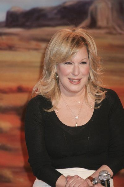 Feather Back Hair Cuts Bette Midler With Feathered