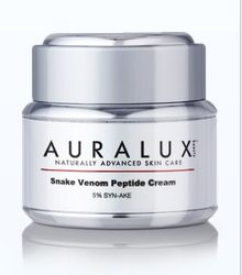 Auralux Beauty Snake Venom Review - If your skin is covered with wrinkles and fine lines even if you're 30 years old you need Auralux Snake Venom to help.