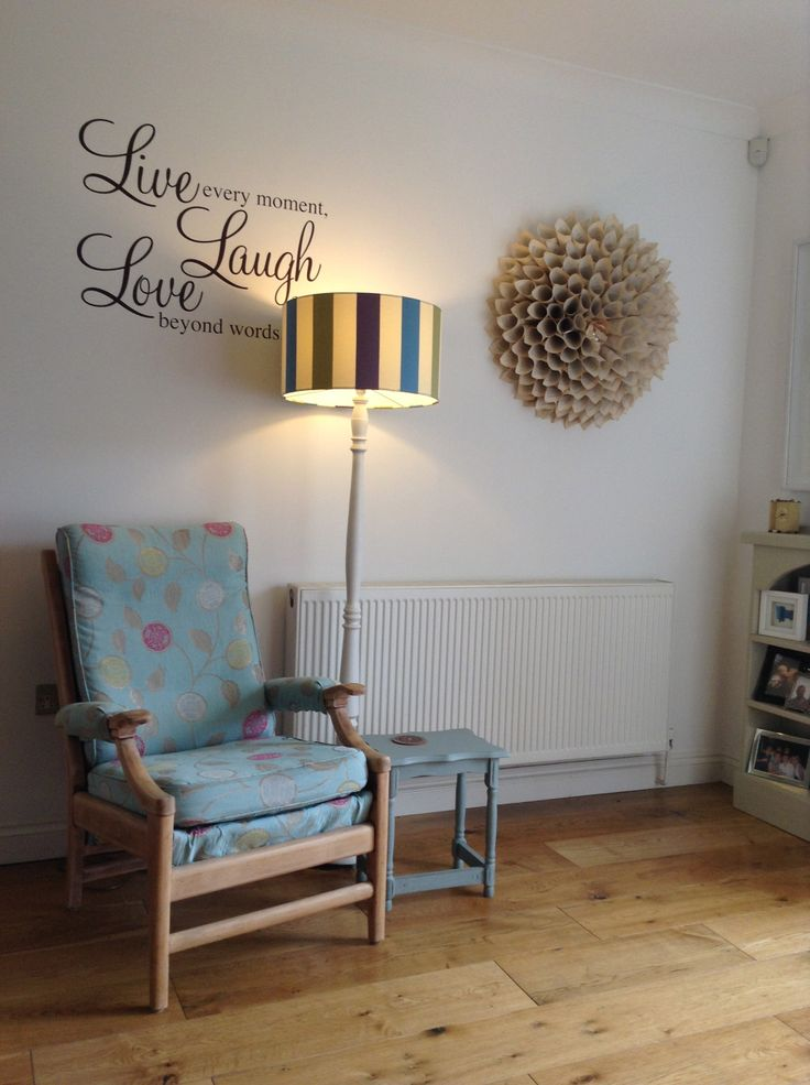 Paperback Wreath and Cintique Chair with new cover