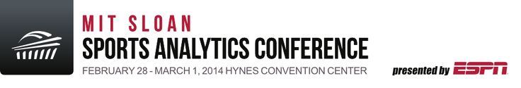 MIT Sloan - Sports Analytics Conference
