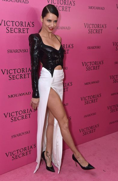 ba5b17f5ea7 Adriana Lima attends the 2017 Victoria s Secret Fashion Show In Shanghai  After Party at Mercedes-