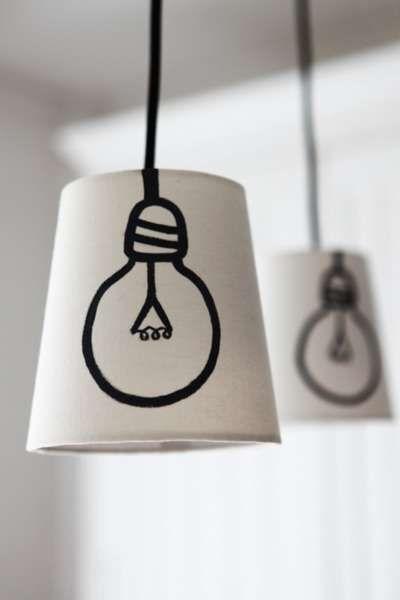 Woontrendz-DIY-getekende-lamp