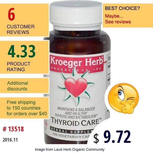 Kroeger Herb Co #KroegerHerbCo #ConditionSpecificFormulas #ThyroidFormulas #特定症状処方 #甲状腺対策 #ФормулыПоСпецифическимЗаболеваниям #ЩитовиднаяЖелеза #건강상태별포뮬라 #갑상선포뮬라