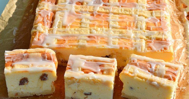 Úžasný Krakovský tvarohový koláč