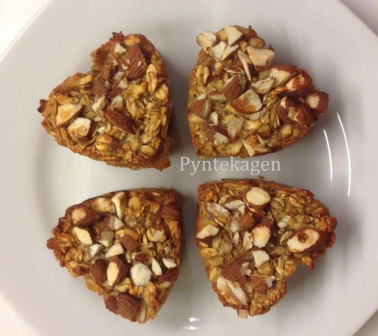 PynteKagen: Super lækre havremuffins
