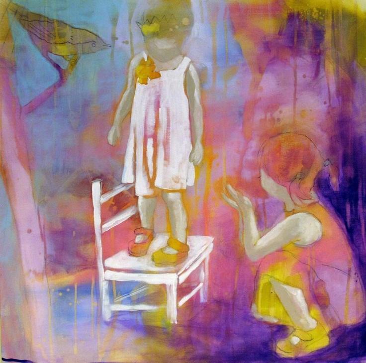 DET ER IKKE FARLIG BY ANNE-BRITT KRISTIANSEN  #fineart #art #painting #kunst #maleri #bilde  www.annebrittkristiansen.com/anne-britt-kristiansen-kunst-2012