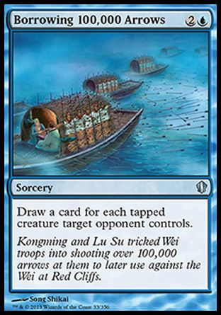 Magic the Gathering Card Reviews: Borrowing 100,000 Arrows from Commander 2013 - #mtg