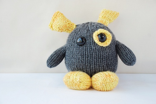 Awww knitted monsters