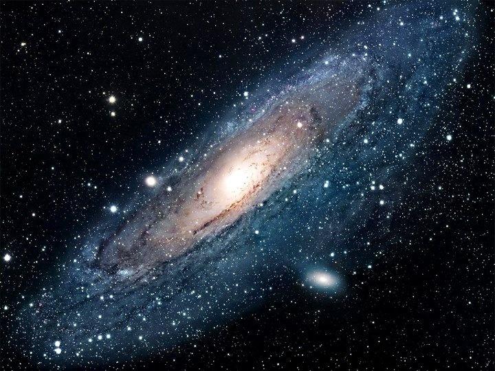 Галактика Андромеды (или Туманность Андромеды). © NASA (http://www.nasa.gov/). #Andromeda #Galaxy #Galaxys #Space