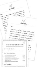 {FREE tooth fairy letter printables for a loose tooth.} Inspector Skeeterflip, Loose Tooth Checker, visits your child to confirm the presence of a loose tooth. A few days later, Bumblefee drops by to explain what will happen -- and who might come -- after the tooth falls out. http://lettersfromatoothfairy.com/free