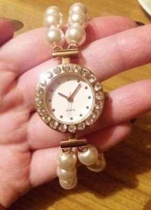 Kup mój przedmiot na #vintedpl http://www.vinted.pl/akcesoria/zegarki/18274460-sliczny-zegarek-na-perelkowej-bransolecie