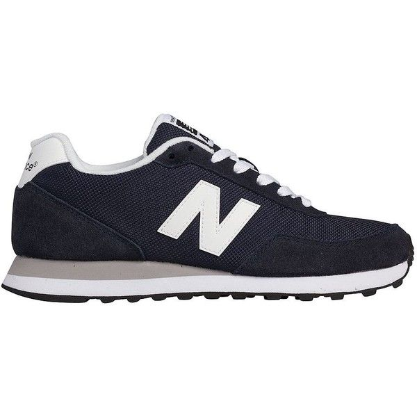 New Balance Lace-Up Sneakers ($65) ❤ liked on Polyvore featuring shoes, sneakers, new balance, navy, lace up shoes, mesh shoes, navy shoes, laced shoes and mesh sneakers